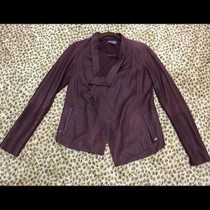 Women's Vince leather jacket
